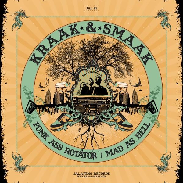 kraak & smaak - funk ass rotator