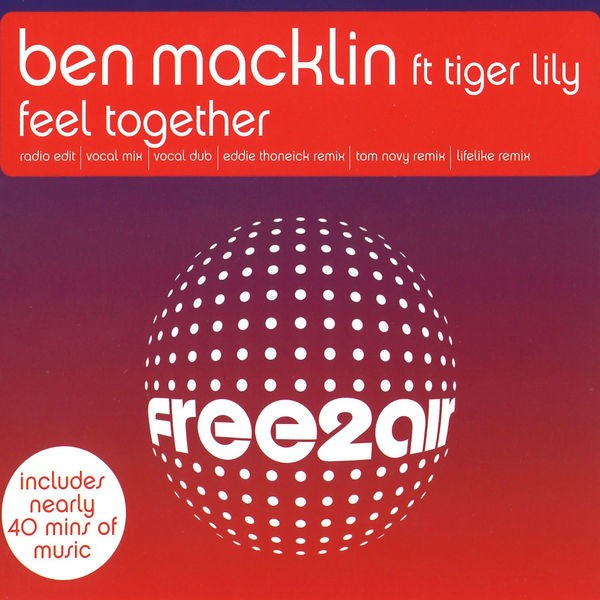 Ben Macklin - Feel Together (Tom Novy's Funk Roll Remix)