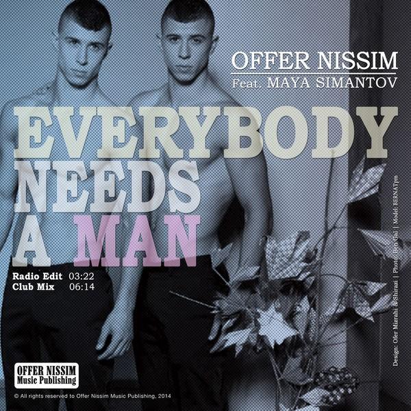 Everybody Needs a Man (feat. Maya Simantov) - Radio