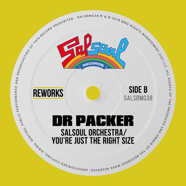THE SALSOUL ORCHESTRA - You're Just the Right Size (Dr Packer Rework)