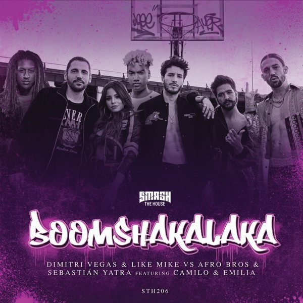 Dimitri Vegas and Like Mike, Afro Bros and Sebastian Yatra feat. Camilo and Emilia - Boomshakalaka