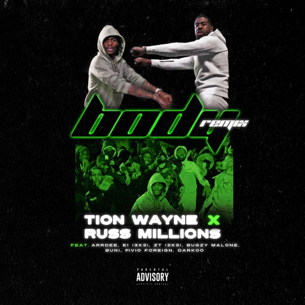 Tion Wayne x Russ Millions - Body (Remix)
