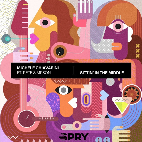 Michele Chiavarini Ft. Pete Simpson - Sittin' In The Middle